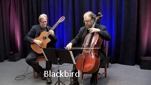 Fred and Jerry play Blackbird